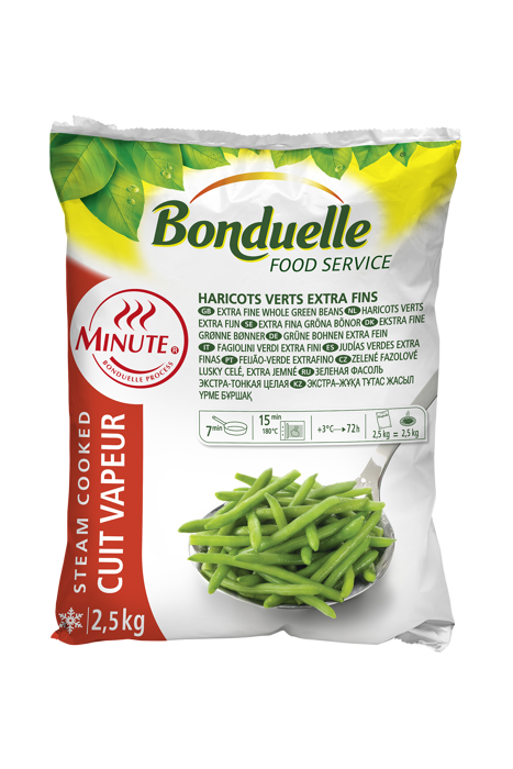 Haricots verts extra-fins Minute ®