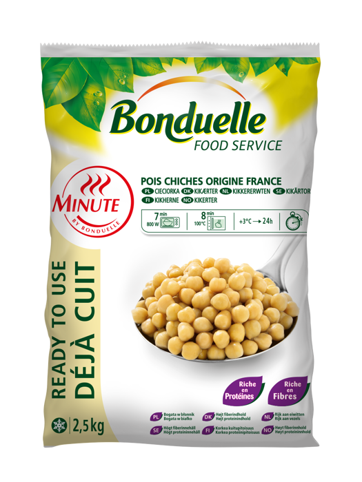 Pois chiches Minute®