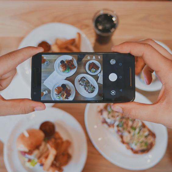 Instagram al ristorante