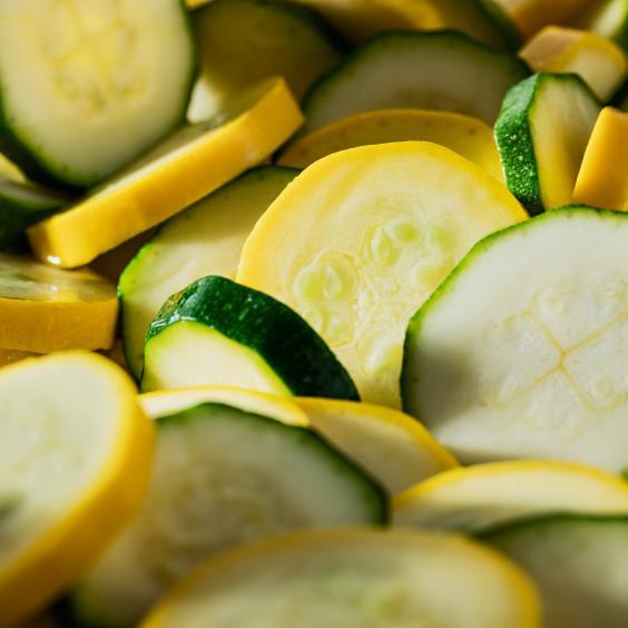 Zucchini grün-gelb