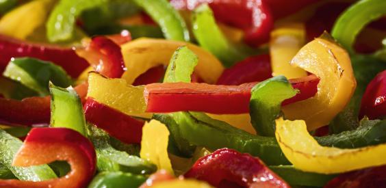 Tris di peperoni pre-fritti