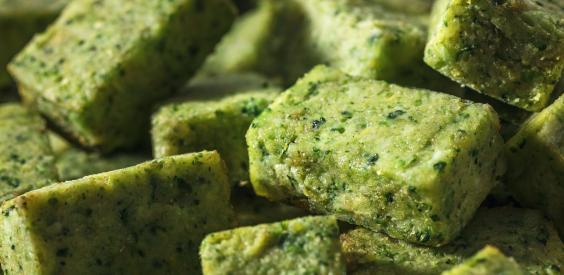 Bouchées de brocolis cuisinées