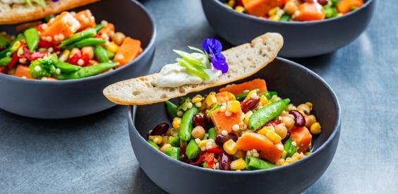 Grazing table: Glorious Texane Peas