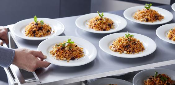 Salade gourmande à l'épeautre et lentilles corail