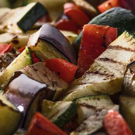 Trio de légumes grillés