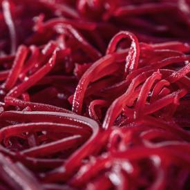 Betteraves rouges en lanières sous vide