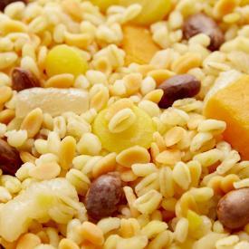 Poêlée blé, légumes dorés, haricots borlotti Minute®