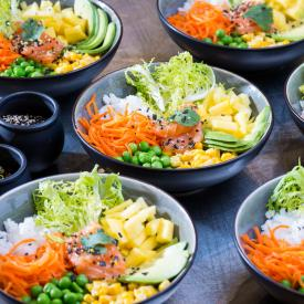 Buddha Bowl: Tropical taste bowl