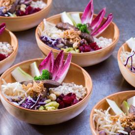 Buddha Bowl: Purple protein bowl