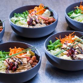 Buddha Bowl: Power lifting bowl