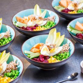 Buddha Bowl: Eggcelent party bowl