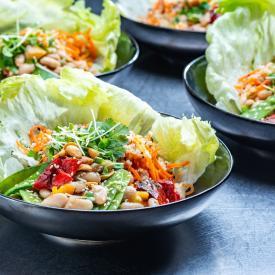 Plantbased Salads: Korean salad