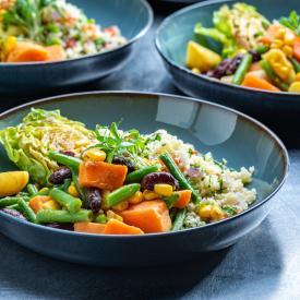 Plantbased Salads: Arabic salad