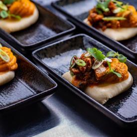 Easy Vegan: Aziatische bun met pompoen en champignons