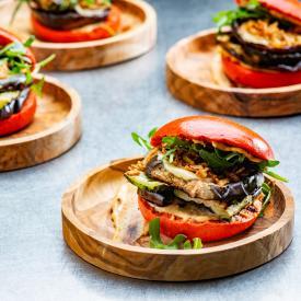 Guilty groenten: Coloured grill buns