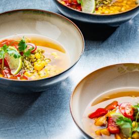 Guilty groenten: Eastern flavoured soup