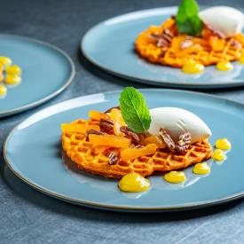 24/7 groenten: Carrot waffle surprise