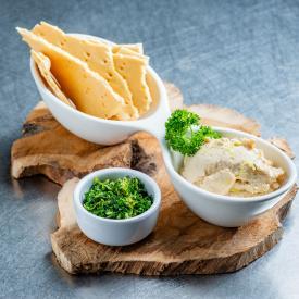 24/7 groenten: Spread fresh with parsley