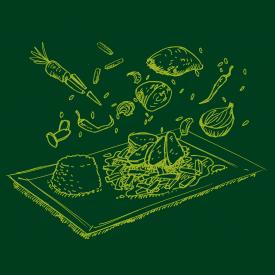 Thai-Gemüsecurry mit Maispoulardenbrust und Duftreis
