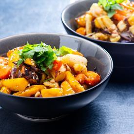 Karotten und Pastinaken Mix gegrillt