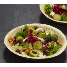 Herbstliche Quinoa-Rosenkohl-Bowl