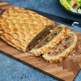 Vegan Wellington steg