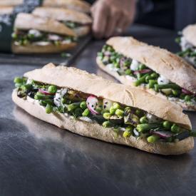 Sandwich green touch