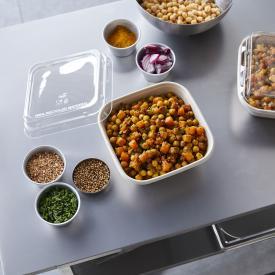 Salade de pois chiches et butternut à emporter