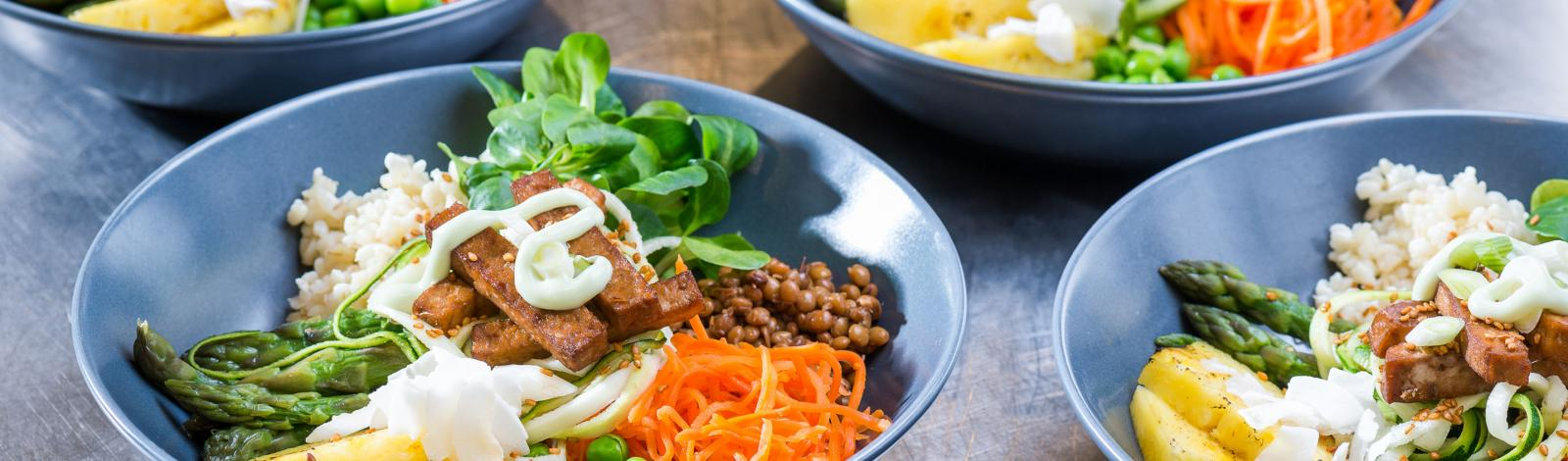 Buddha Bowl: Nutritious delicious bowl