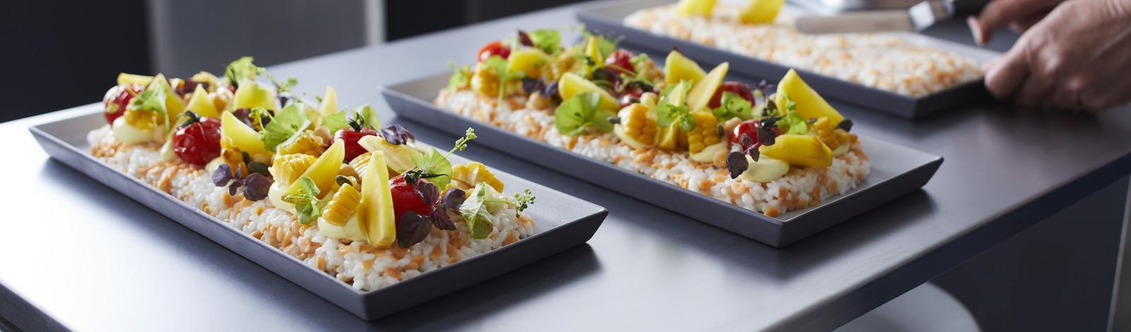 Salade façon sushi aux pépites de lentilles corail